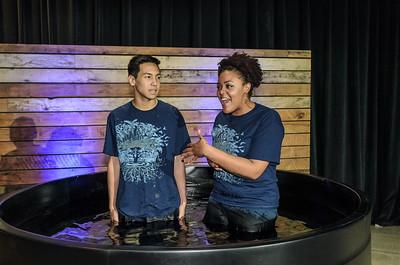 Saddleback Irvine South Sunday Worship Baptism  - photo by Allen Siu 2017-02-12