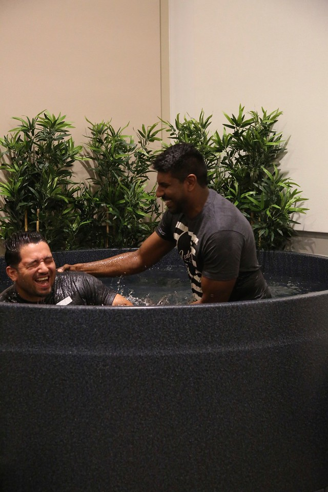 2017-04-01 George Perez Baptism