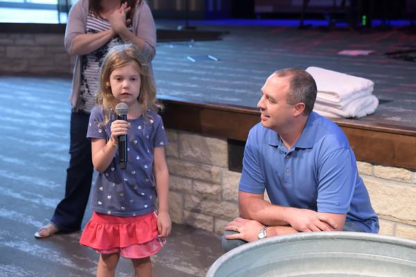 2018 July Urish Baptisms