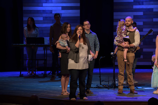 2018 June Baptisms & Child Dedications