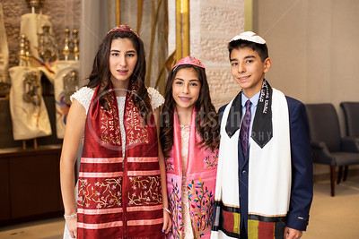 Raquel, Gregory & Giselle -- B'nai Mitzvah -- October, 2018