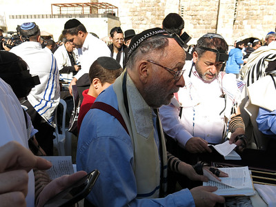 Thursday - The Bar-Mitzva at the Kotel and Lunch