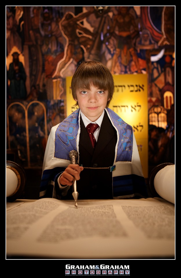 Wilshire Blvd. Temple Bar Mitzvah Photographer