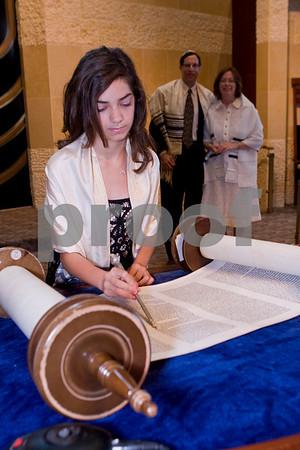 Aliza Bat Mitzvah, Congregation Beth Israel, La Jolla, California