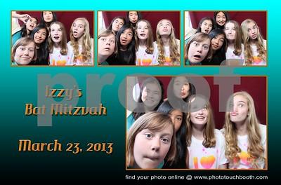 Izzy's Bat Mitzvah Party