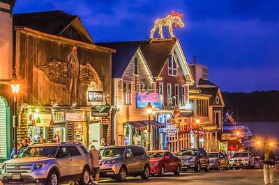 Nightfall on Main Street