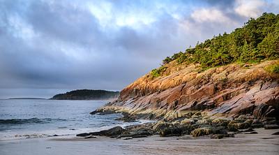 Sand Beach rocks