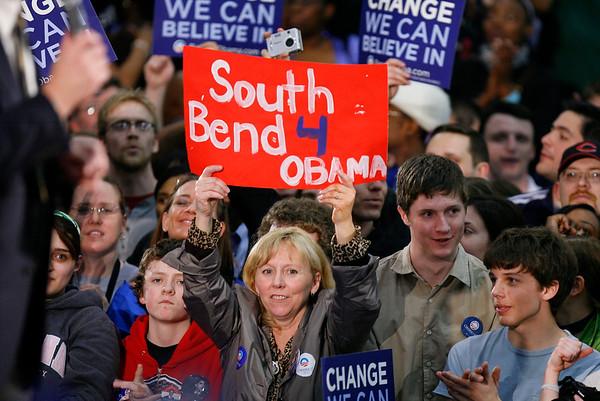 Candidate  Barack Obama