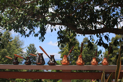 Coffee pots collection @ Meridian Khao Tam