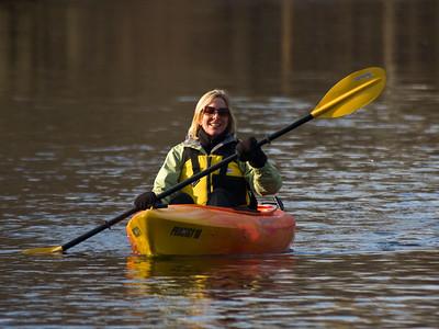 Barb Kayaking
