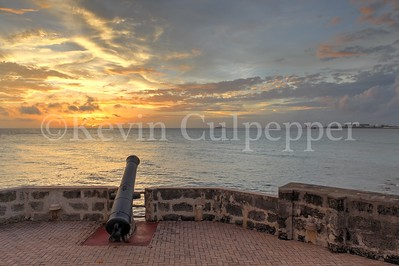 Cannon at Old Fort, Hilton Barbados