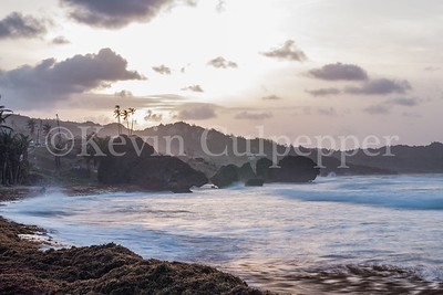 Sunset at Bathsheba