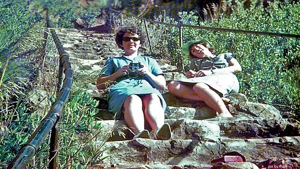 Barbara Ison, basic film camera & Margaret