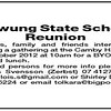Rywrung State School Reunion 27-10-2012 in Cameby Community Hall