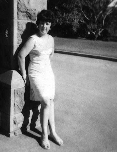 Barbara Ison at age 20