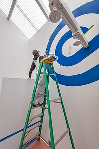 Barbara Stauffacher Solomon - Painting the Blue Wave