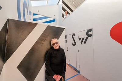 Barbara Stauffacher Solomon  & Nellie