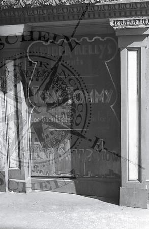 Spider Kelly's Last Window Ad