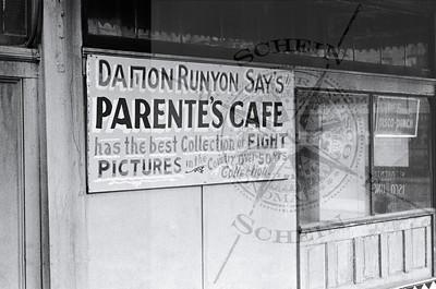Boxing Legend Damon Runyon Says !