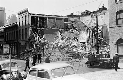 Exploded Building !  Jackson & Sansome St's