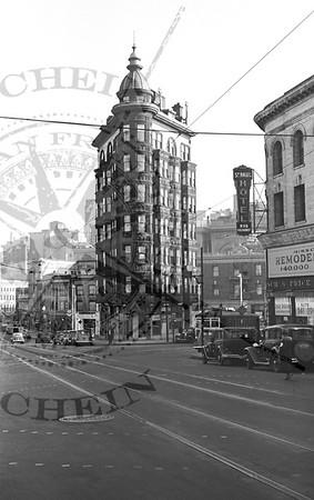 Sentinal Tower Columbus and Kearny St's