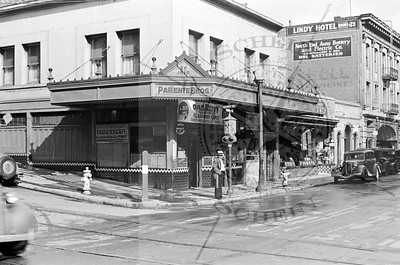 Parente Bros. at Kearny and Pacific Ave.