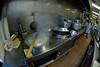 A boiling pot for cooking noodles, dumplings, and wontons.