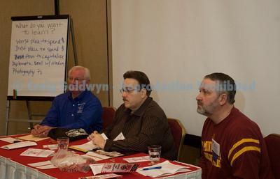 Woody of Arkansas, Smoky Jon Olson of Smoky Jon's in Madison, WI, and Joe Oaster of Porky's Place in York, PA.