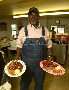 Horace Archie, manager and pitmaster.