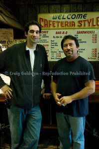 barry Sorkin of Smoque in CHicago and Tim Mikeska.