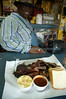 """Hayward """"The Rib Doctor"""" Harris, Jr.  of Riverside CA joined me for lunch."""
