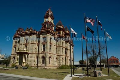 County Hall in Lockhart.
