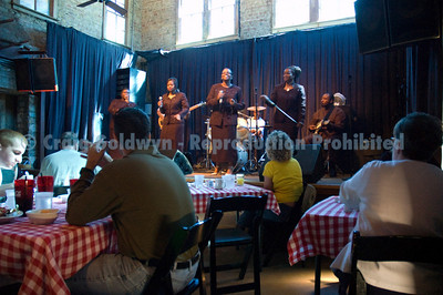 The Christianettes rocked the joint at Sunday Gospel Brunch, always a sell out.