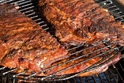 Ribs after four hours