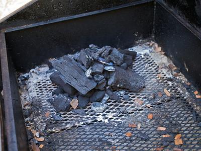 Lump Hickory and Oak charcoal