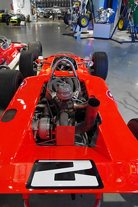 1969 Lotus Type 64 - Indy  2.6 liter 159ci turbocharged V8 - 700hp Driven by Mario Andretti, set 15 new records during the 1969 Indy 500  Barber Vintage Motorsports Museum (Leeds, AL)