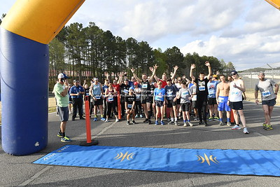 5k Race and podium