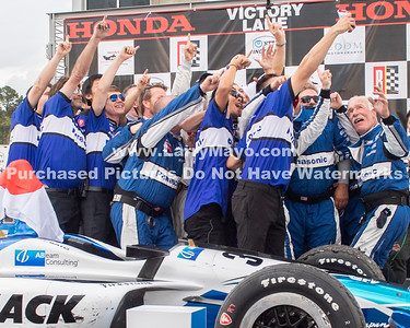 Takuma  Sato  Wins at 2019 Barber Motorsports Indy Race.