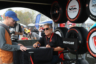 Mario Andretti Signature session