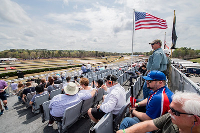 VIP stands on Paddock