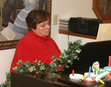 Carol even tickled the ivories for us to help bring in the New Year