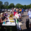 Registration was busy