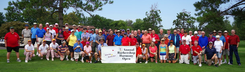 Barbershop Harmony Open 2018 Elk River Golf Club, MN