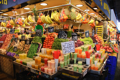 Fruit Stall in La Boqueria