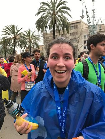 Barcelona half-marathon 2017