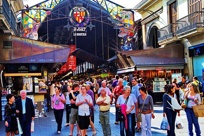 Barcelona's La Boqueria (Fruit & Vegetable Market)