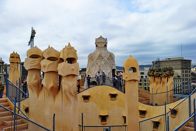 Barcelona's La Pedrera Casa Mila (Gaudi Museum) La Pedrera (Catalan for 'The Quarry'),