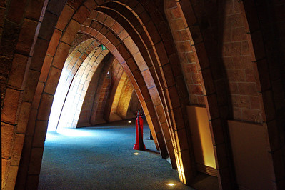 Gaudi_Museum_Arched-hallway_D3S0113