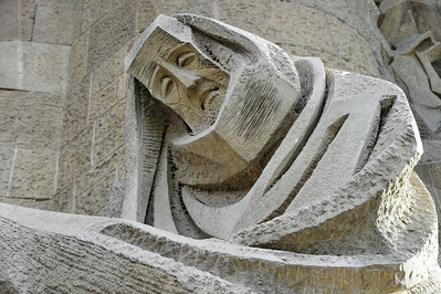 The artist who sculpted this statue captures the agony Peter must have felt after denying Christ three times.