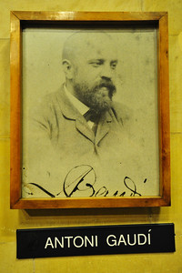 Photo of the Architect; Antoni Gaudi